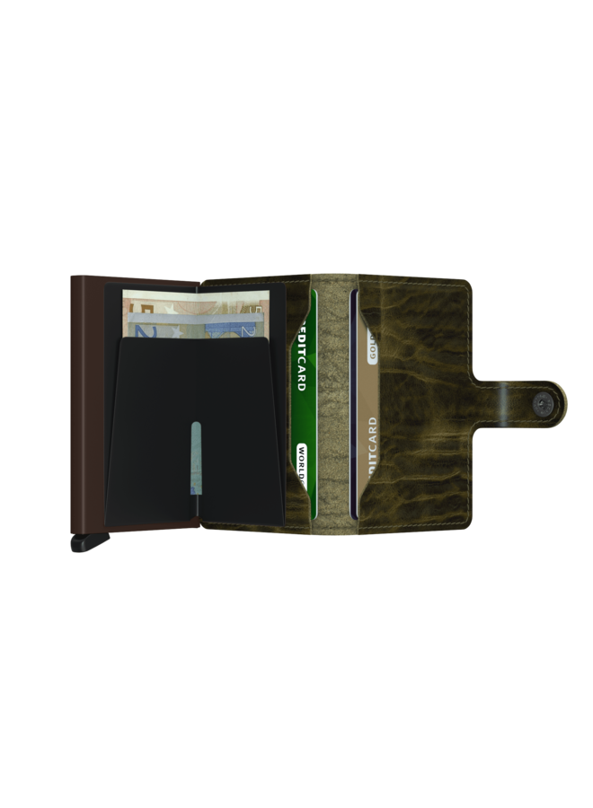 Secrid Miniwallet Dutch Martin Olive
