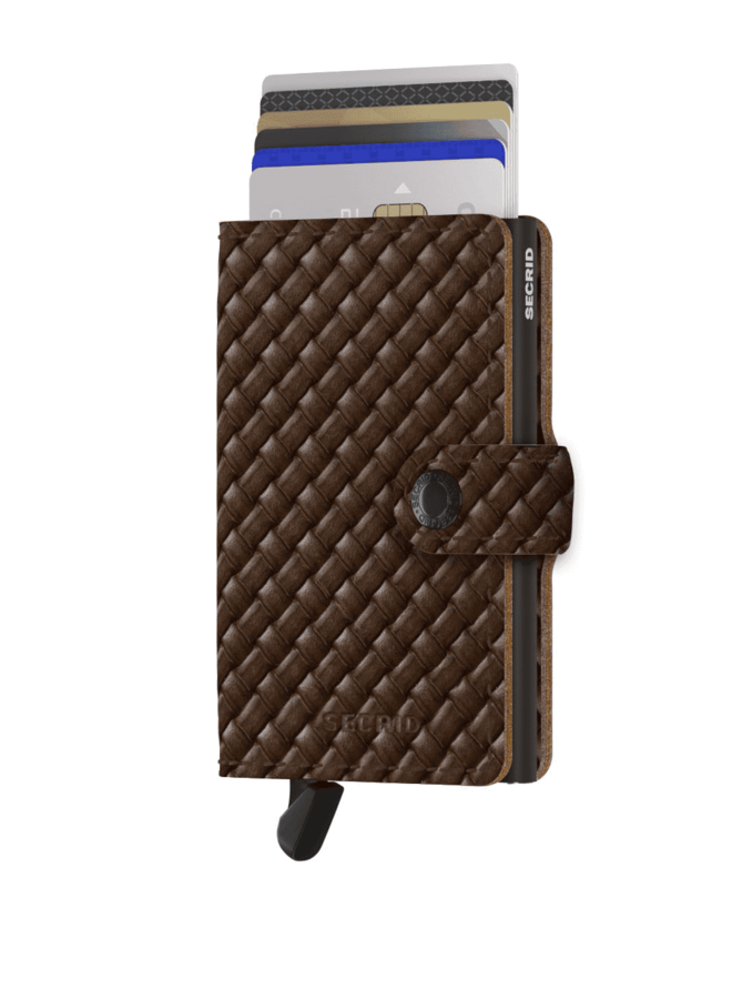 Secrid Miniwallet Basket Brown