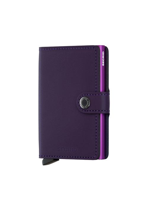 Secrid Secrid Miniwallet Matte Purple