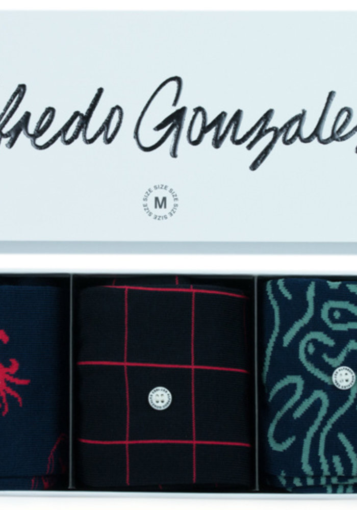Alfredo Gonzales Sea 3 Pack giftpack