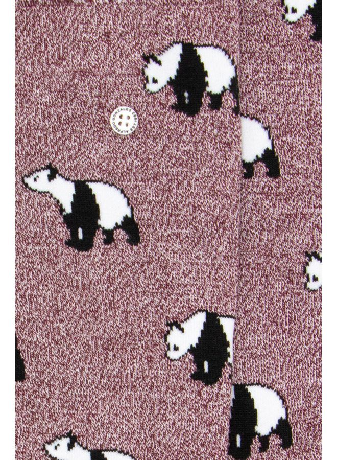 Alfredo Gonzales Socks Panda Red/Black