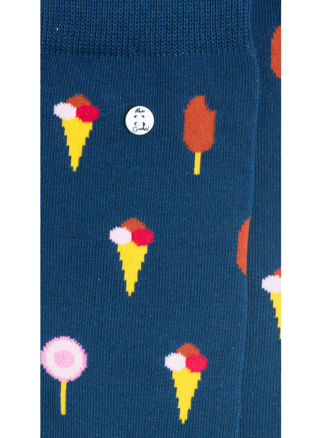 Alfredo Gonzales Socks Ice Pops Navy