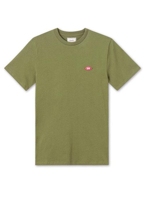 Forét Forét T-Shirt Hawk Army