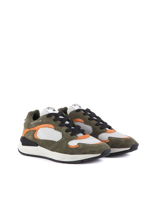 Atlantic Stars Atlantic Stars Peacock Sneakers Grey/Orange