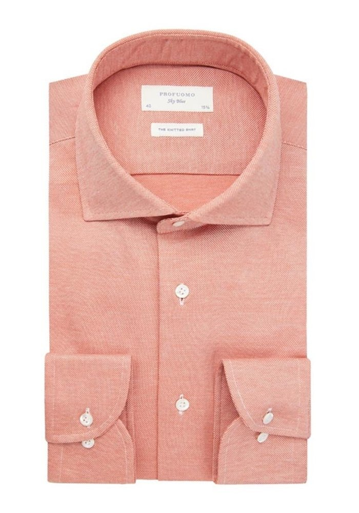 Profuomo Shirt Cutaway SC SF Orange