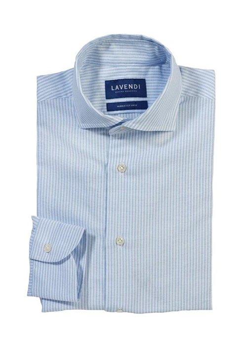 lavendi Shirt Lavendi Silvio Stripes Oxford