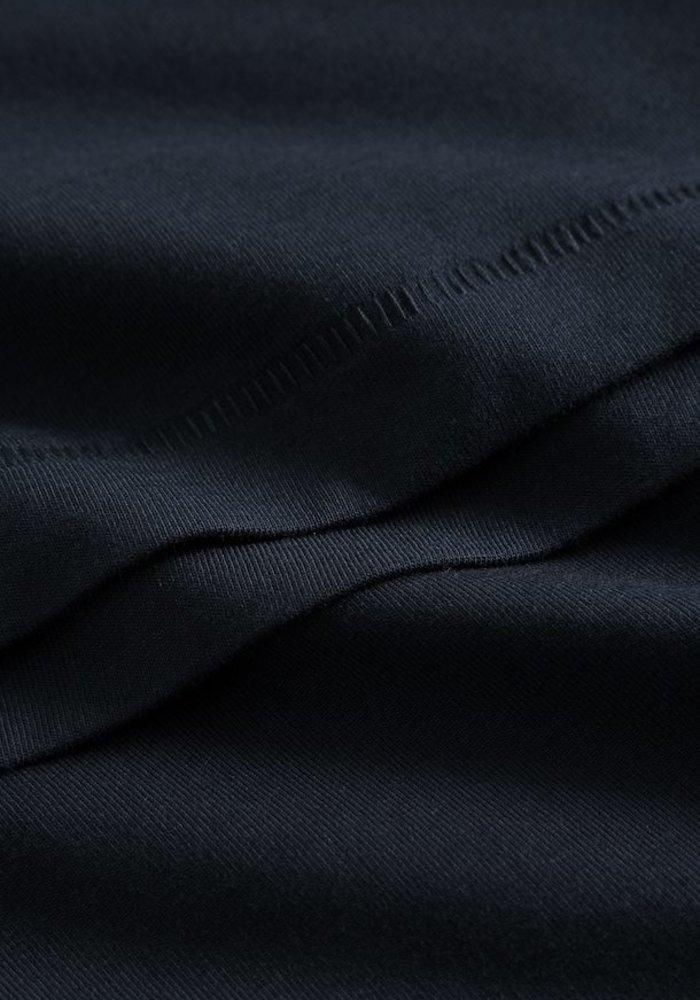 Matinique Jermalink Cotton Stretch T-shirt Dark Navy