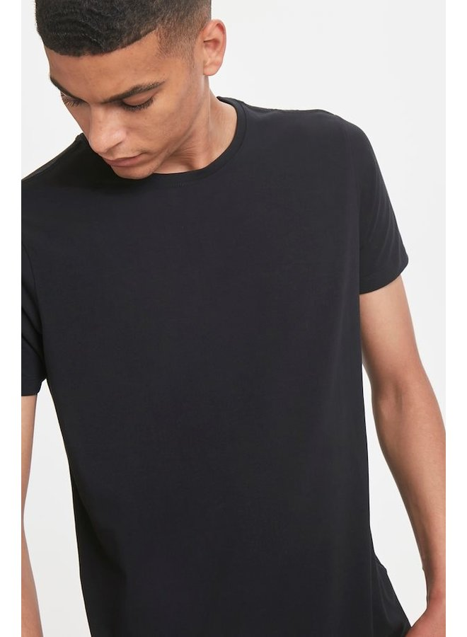 Matinique Jermalink Cotton Stretch T-shirt Black