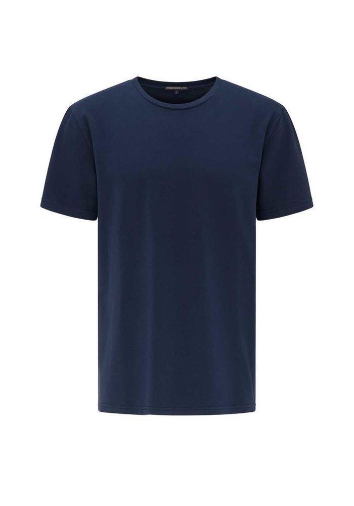 Drykorn 49895 Samuel T-Shirt Blue