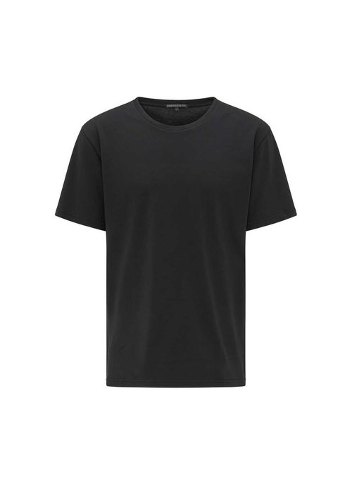 Drykorn 49895 Samuel T-Shirt Striped Black White