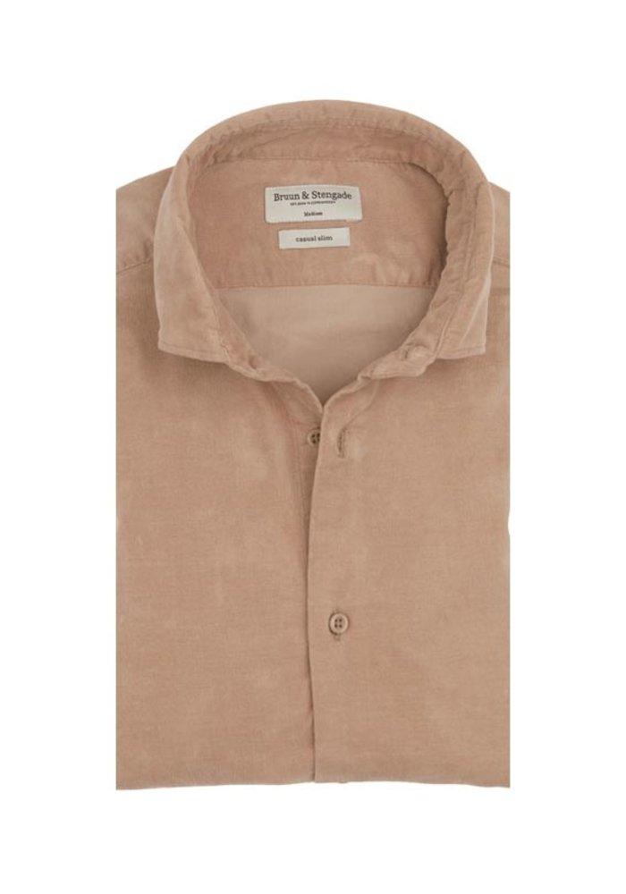 Bruun & Stengade Shirt Fleetwood Sand