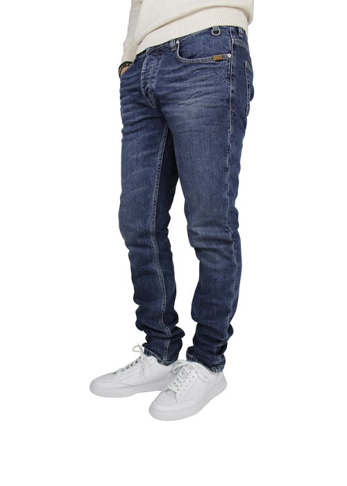 Five Fellas Five Fellas Dark Blue Washed Jeans 24M