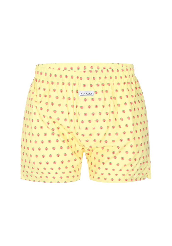 Pockies Underwear Boxer Peaches