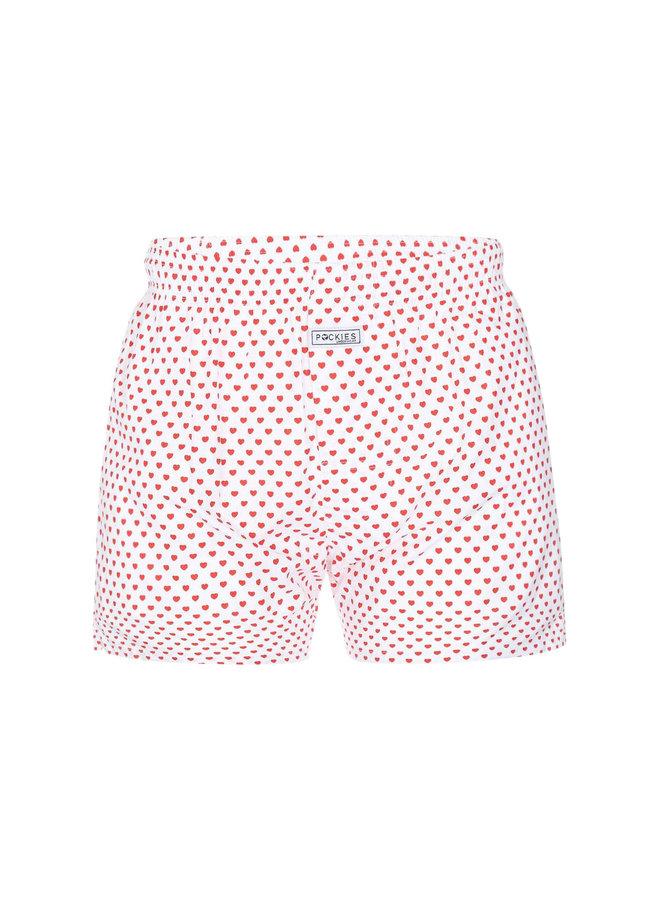 Pockies Underwear Boxer Dirty Luv Red
