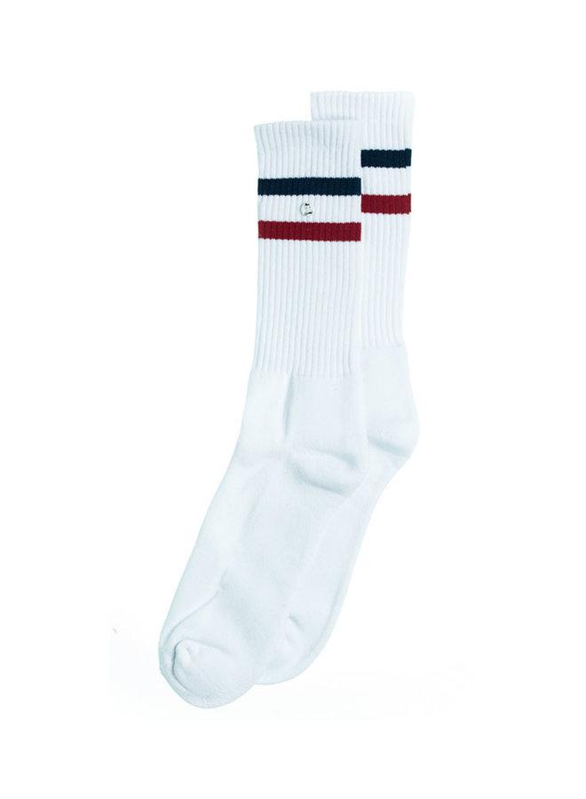 Alfredo Gonzales Socks z-Sock White/Navy/Red