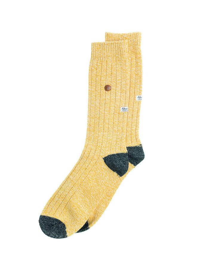 Alfredo Gonzales Socks Twisted Wool Yellow