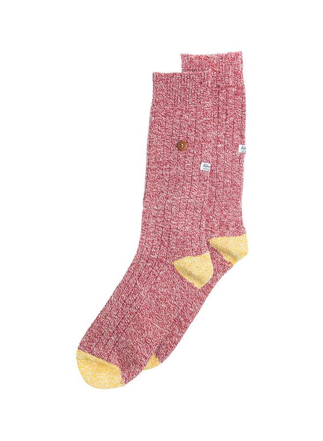 Alfredo Gonzales Socks Twisted Wool Red