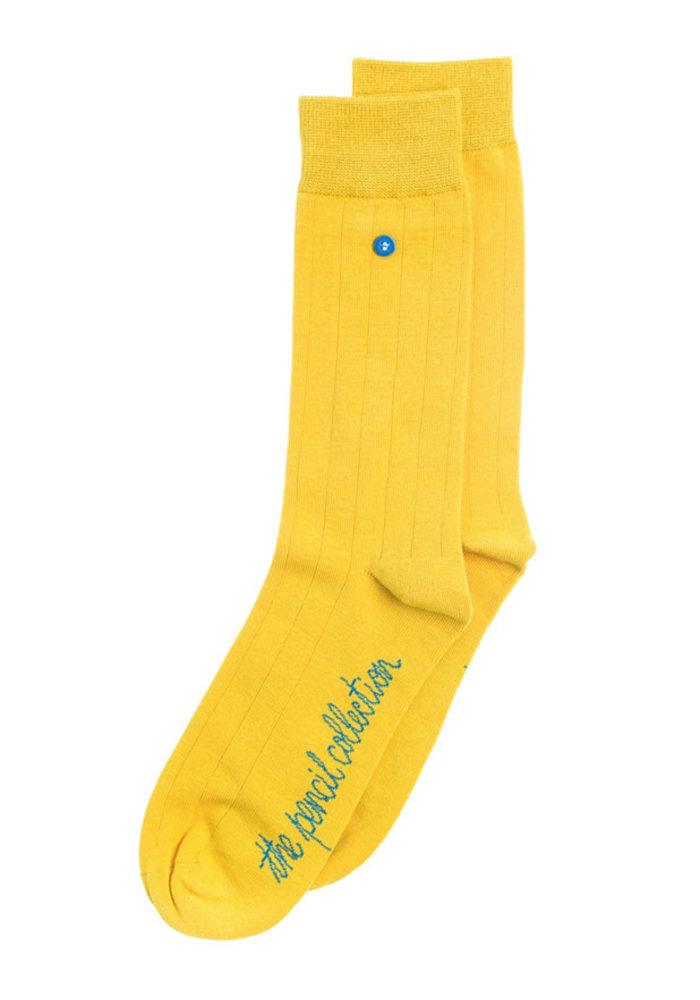 Alfredo Gonzales Socks Pencil Classic Mustard