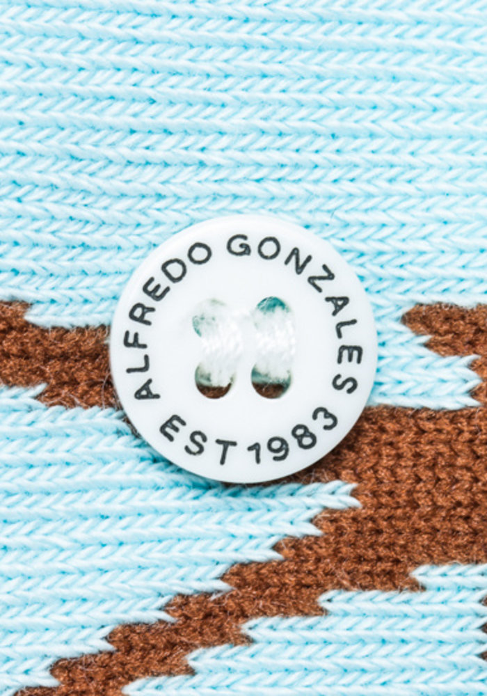 Alfredo Gonzales Socks Palm Spring Light Blue