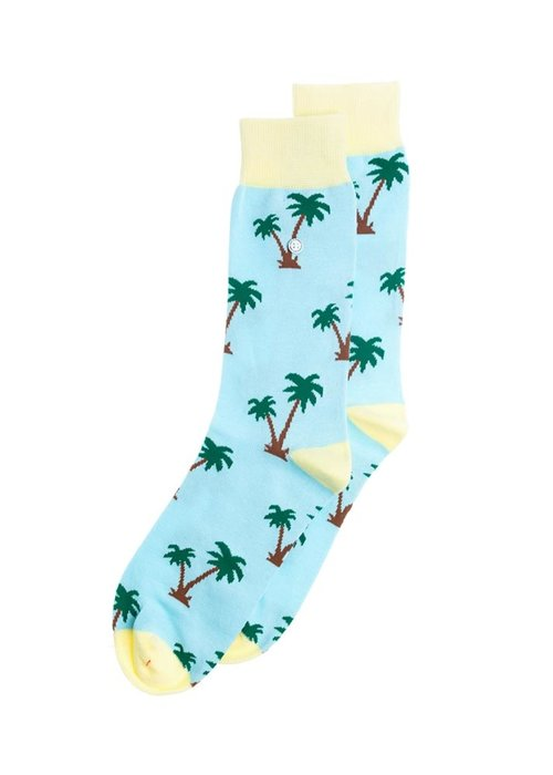 Alfredo Gonzales Alfredo Gonzales Socks Palm Spring Light Blue