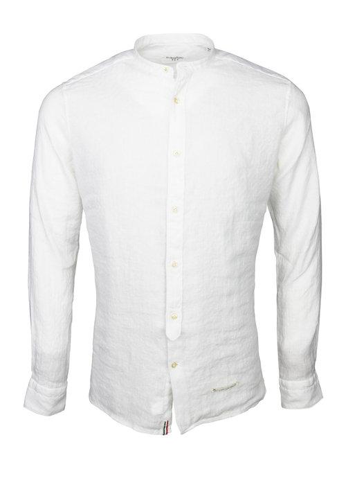 Tintoria Mattei Tintoria Mattei Mao Shirt White 1T70CT5AA1