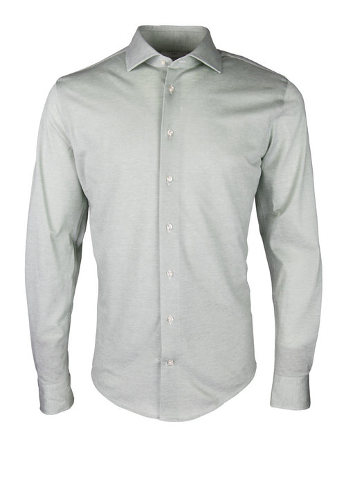 Profuomo Profuomo Shirt Cutaway SC SF Green