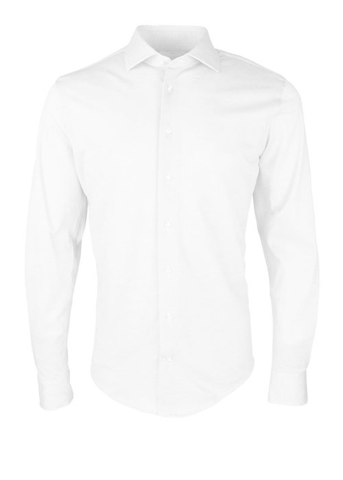 Profuomo Profuomo Shirt The Knitted White