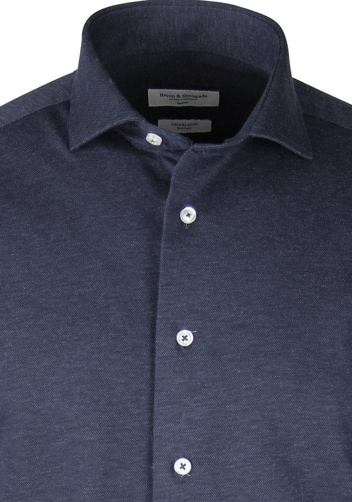 Bruun & Stengade Aske Shirt Blue