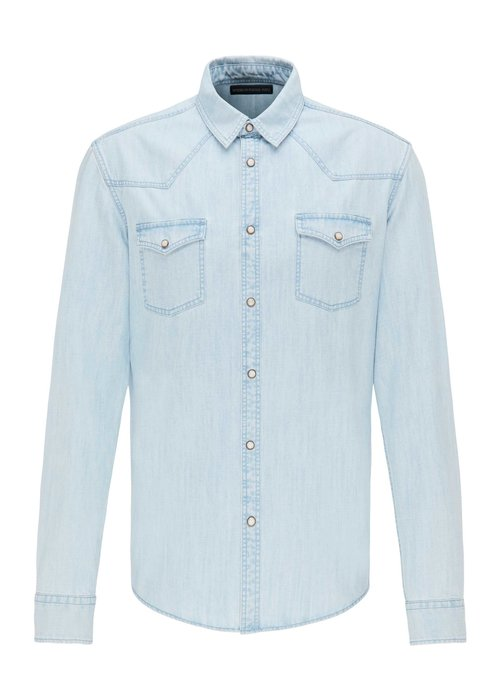 Drykorn Drykorn Shirt Samu Light Denim