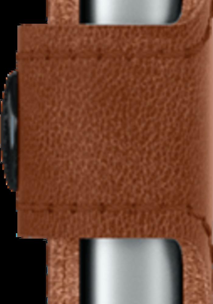 Secrid Miniwallet Vintage Cognac Silver