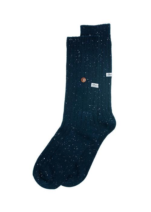 Alfredo Gonzales Alfredo Gonzales Socks Speckled Cotton Navy