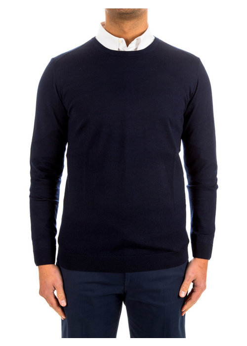 Circle Circle Pullover Rimini O-Neck Dark Navy