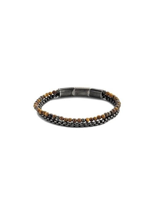 Frank 1967 Frank 1967 7FB-0404 Bracelet Brown Leather steel