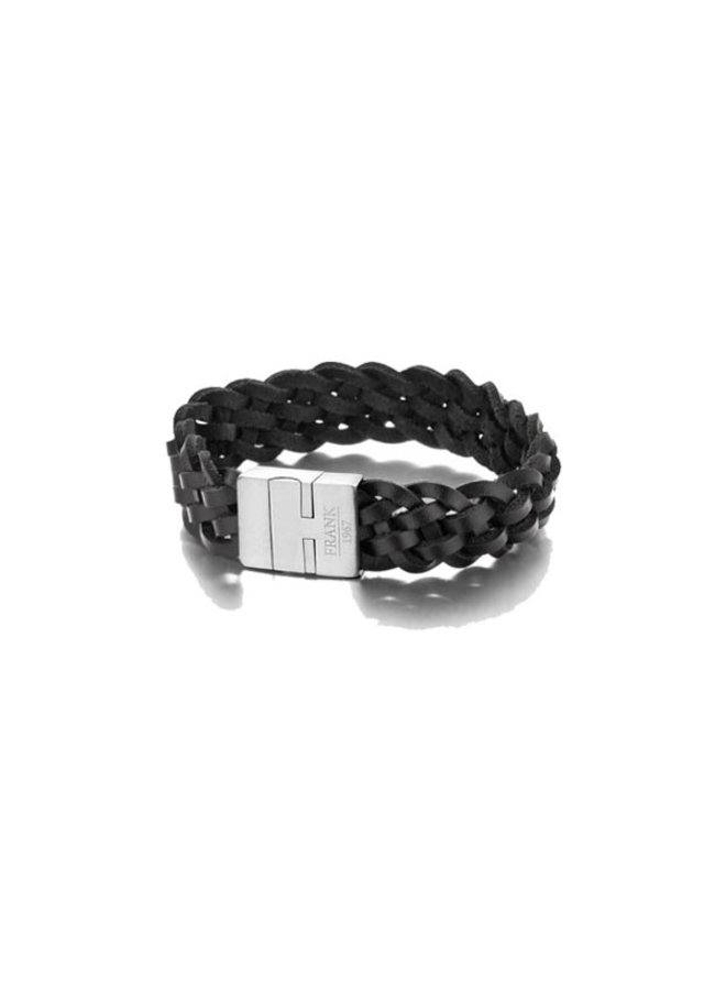 Copy of Frank 1967 Bracelet Black leather OneSize