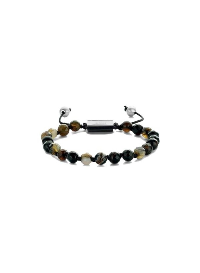 Frank 1967 7FB-0370 Bracelet Woven Dark Brown