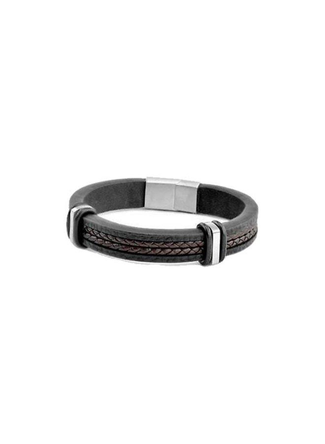 Frank 1967 7FB-0343 Bracelet Black Brown Leather