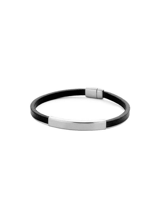 Frank 1967 7FB-0338 Bracelet Black Silver Leather