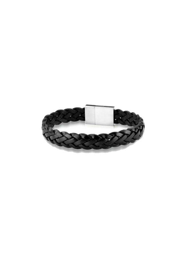 Frank 1967 7FB-0290 Bracelet Leather Black Braided