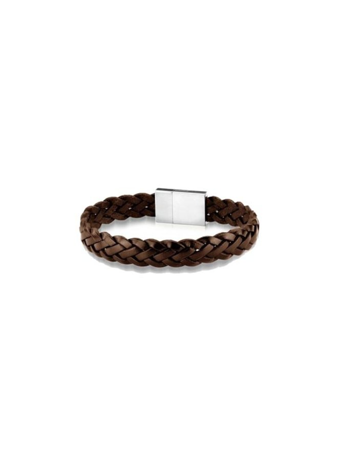 Frank 1967 7FB-0289 Bracelet Leather Brown Braided