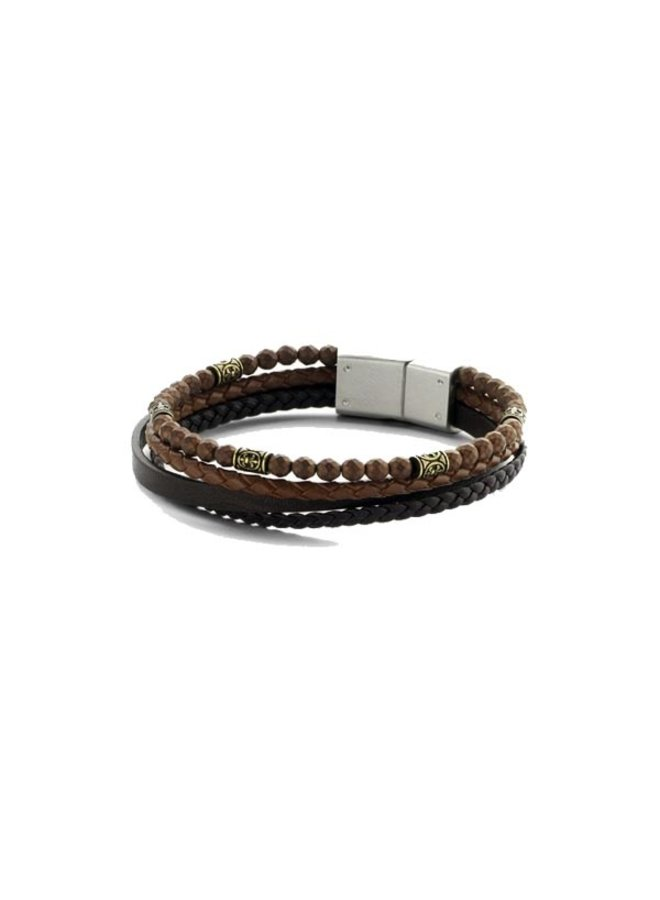Frank 1967 7FB-0246 Bracelet Brown Leather