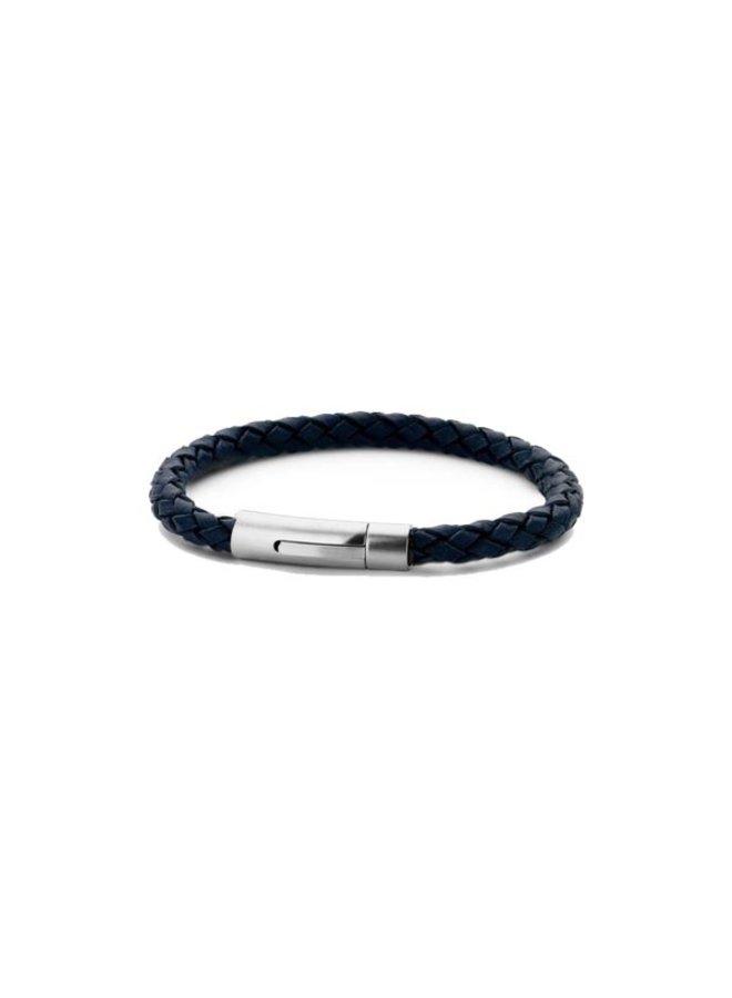 Frank 1967 7FB-0219 Bracelet Leather Blue IP