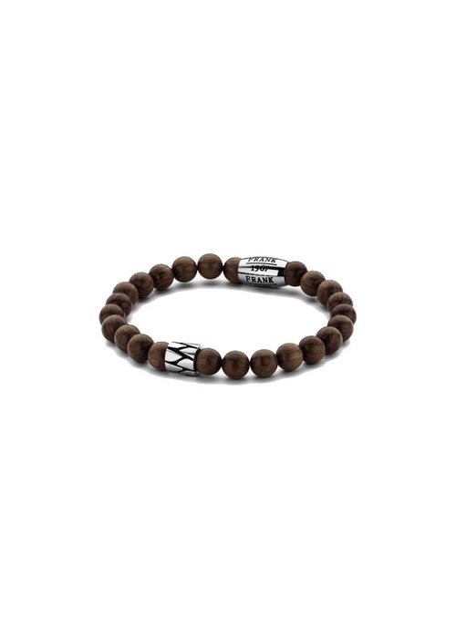Frank 1967 Frank 1967 7FB-0212 Bracelet Wooden Beads Brown