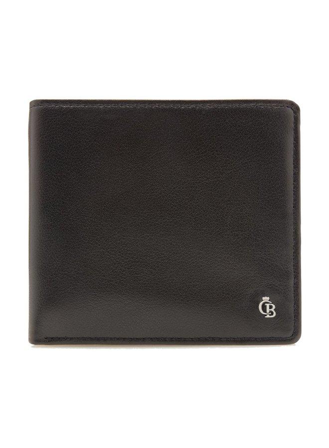 Castelijn & Beerens 67 4282 Zwart Billfold 4 Pasjes RFID