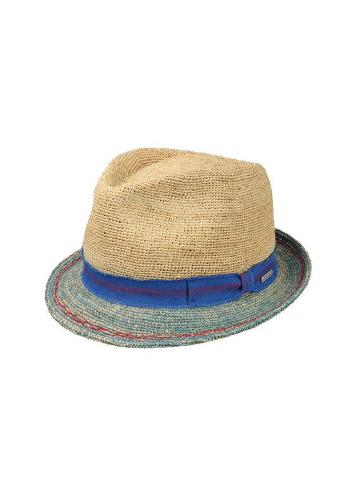Stetson 1238517-72 Trilby Crochet Sand / Blue