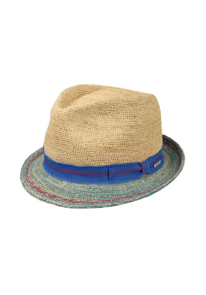 Copy of Stetson 1238517-72 Trilby Crochet Sand / Blue
