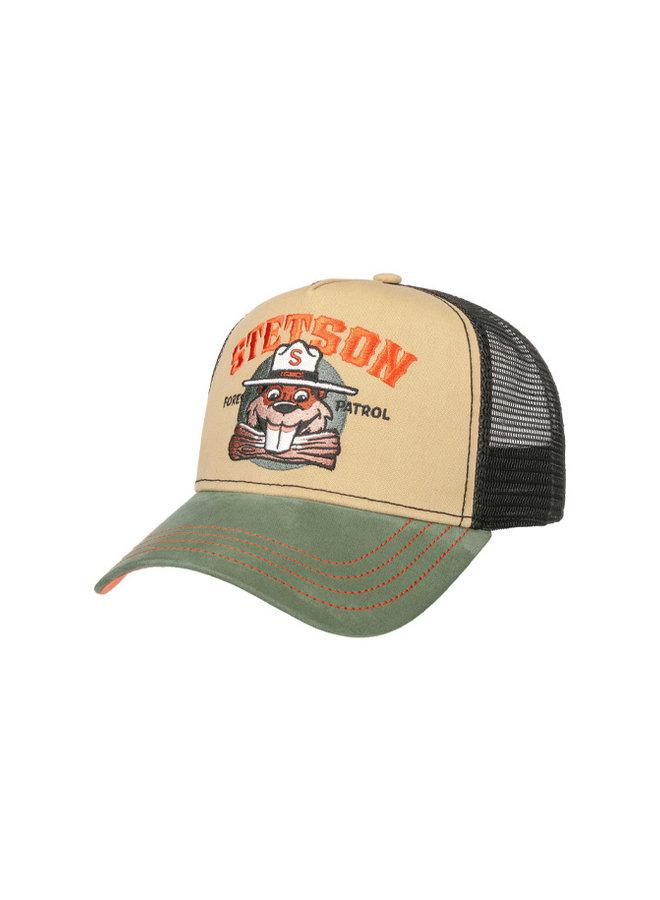 Stetson 7751155-2 Trucker Cap Forest Patrol Green