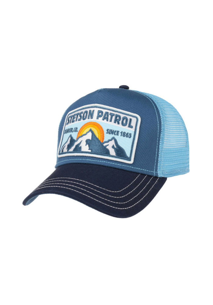 Copy of Stetson 7751155-2 Trucker Cap Patrol Blue/Blue