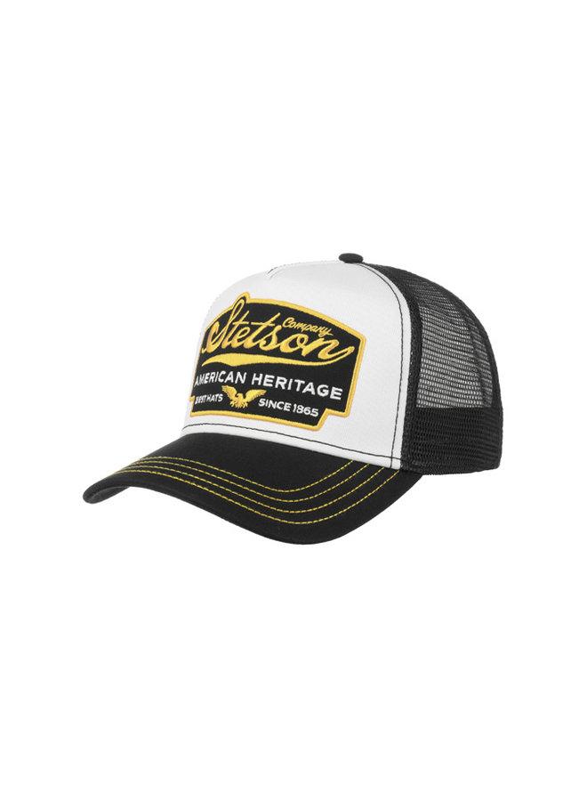 Stetson 7751103-17 Trucker Cap American Heritage Black / Yellow