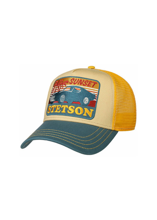 Stetson Stetson 7751156-29 Trucker Cap Sunset Yellow / Blue