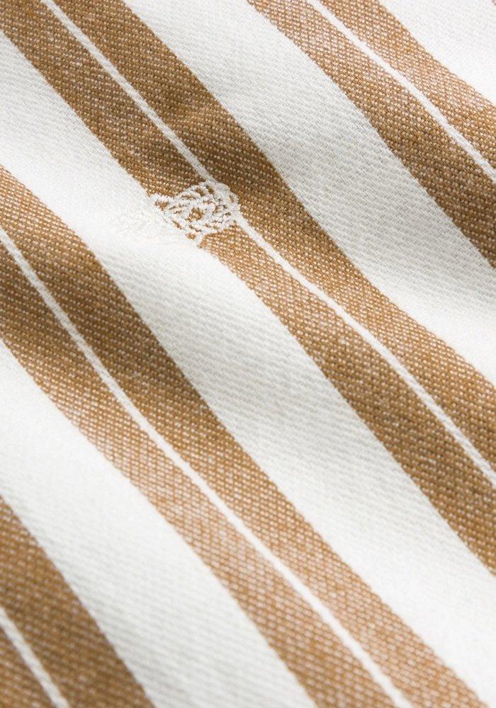 Forét Shirt Elm White Tan